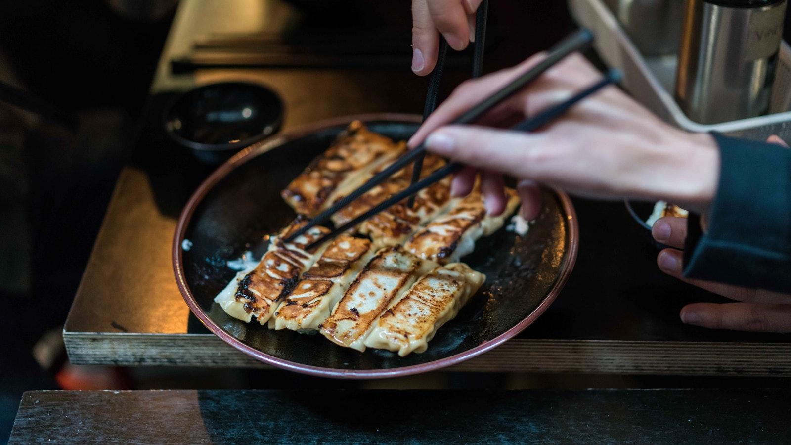 Dumplings on Melbourne Bites & Sights