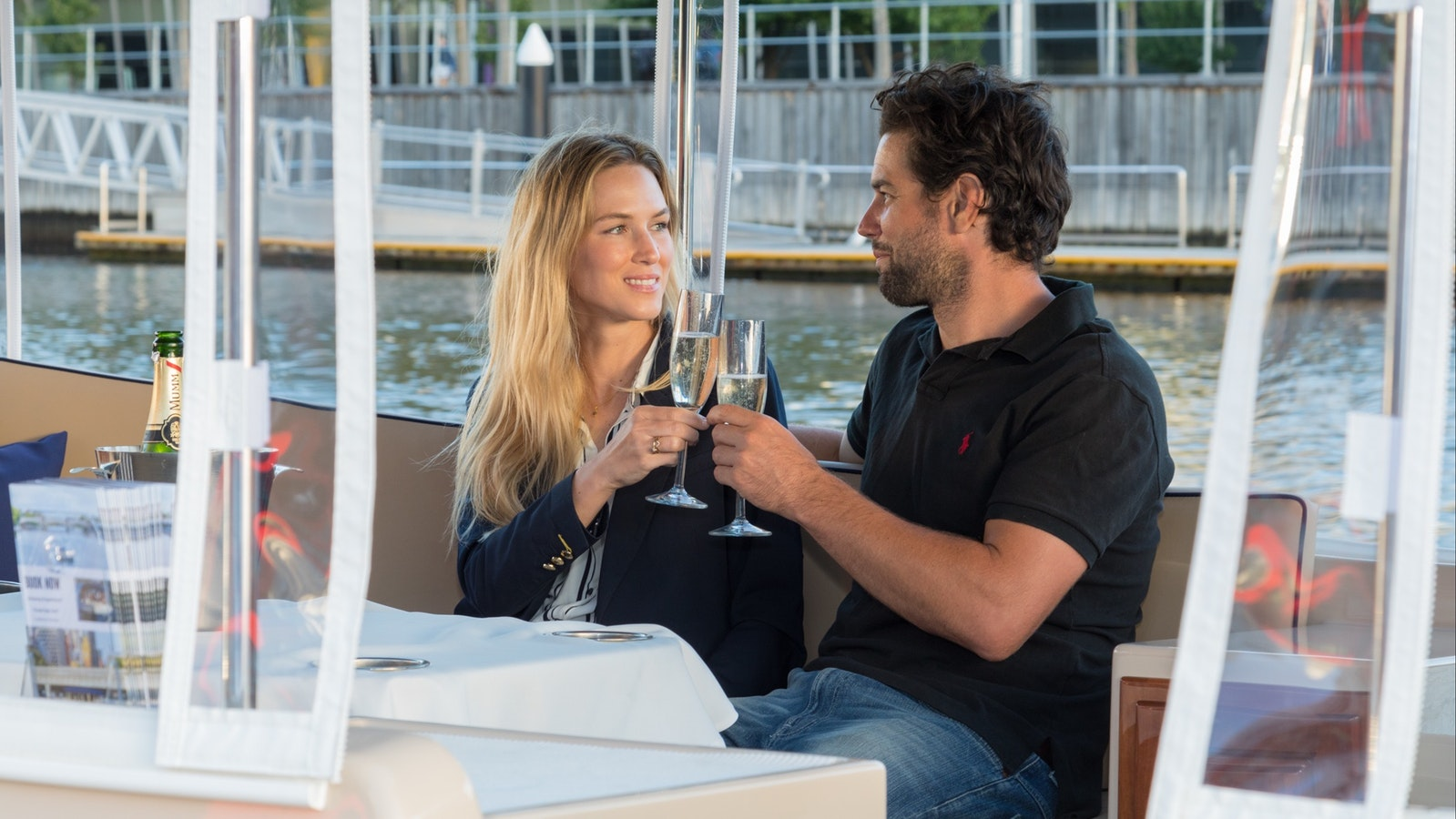 Treat your loved one to a romantic cruise on the Yarra River