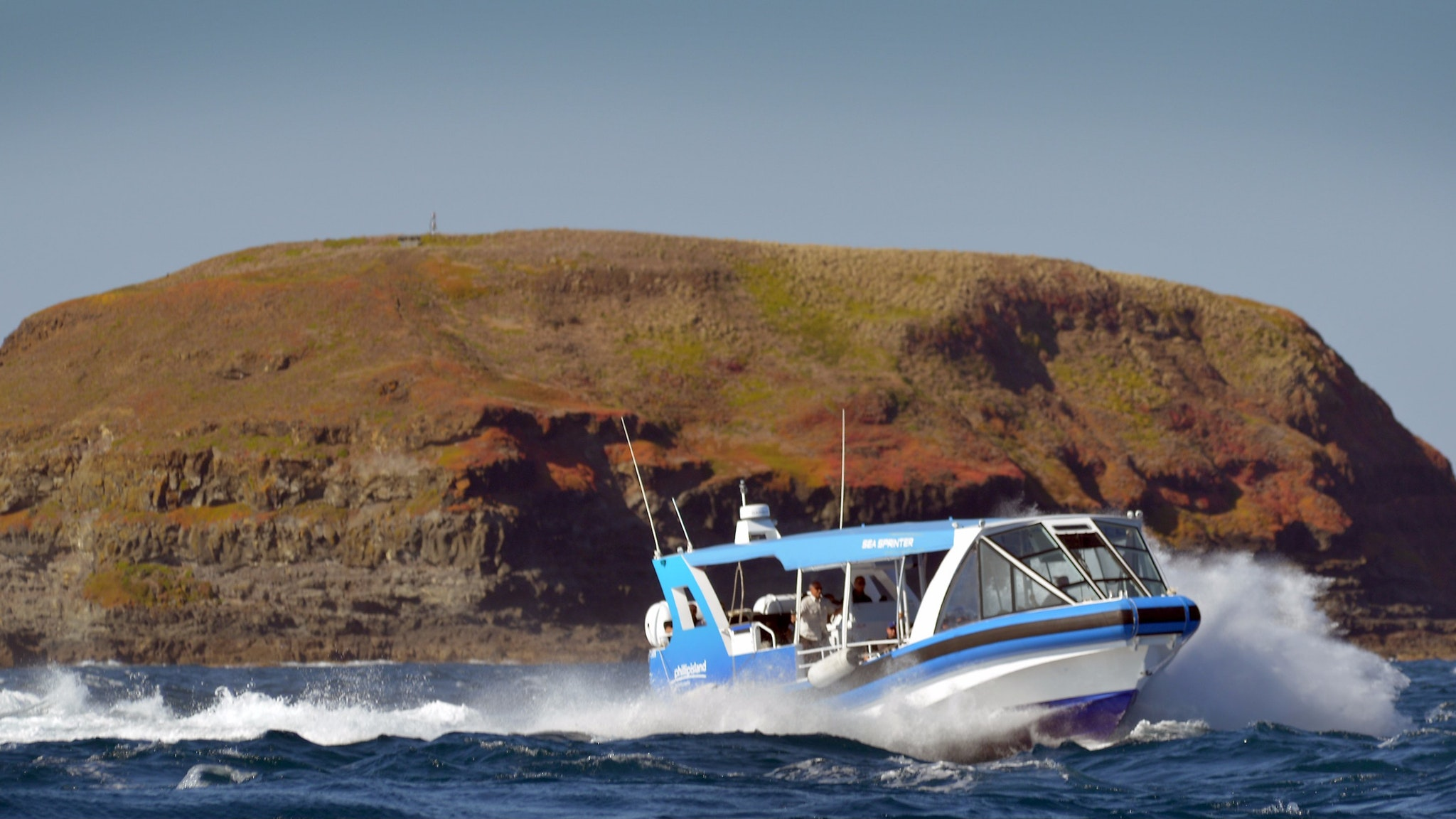 Ecoboat Tour on Phillip Island with Oceania Tours