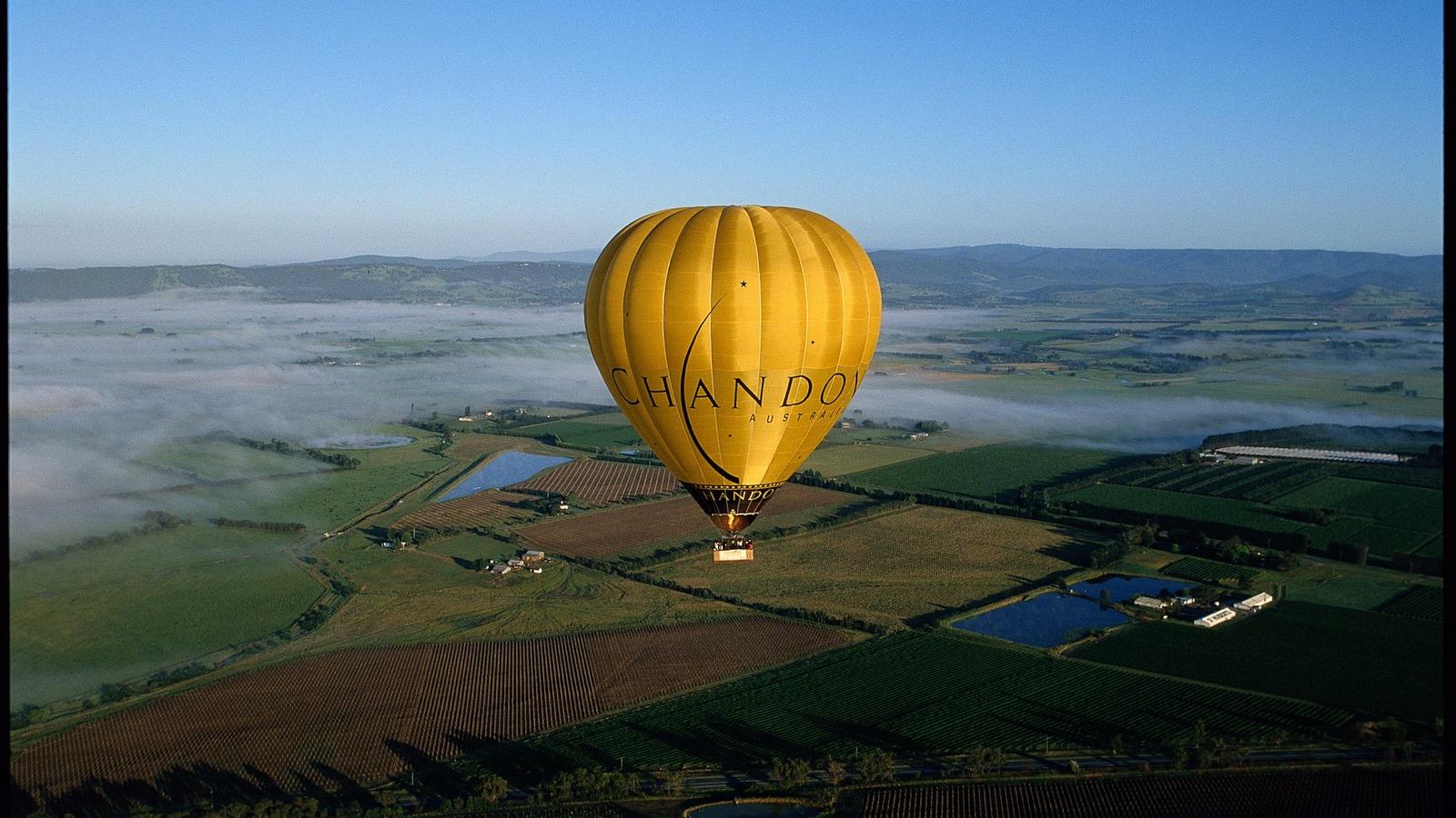 yarra valley balloon hot air