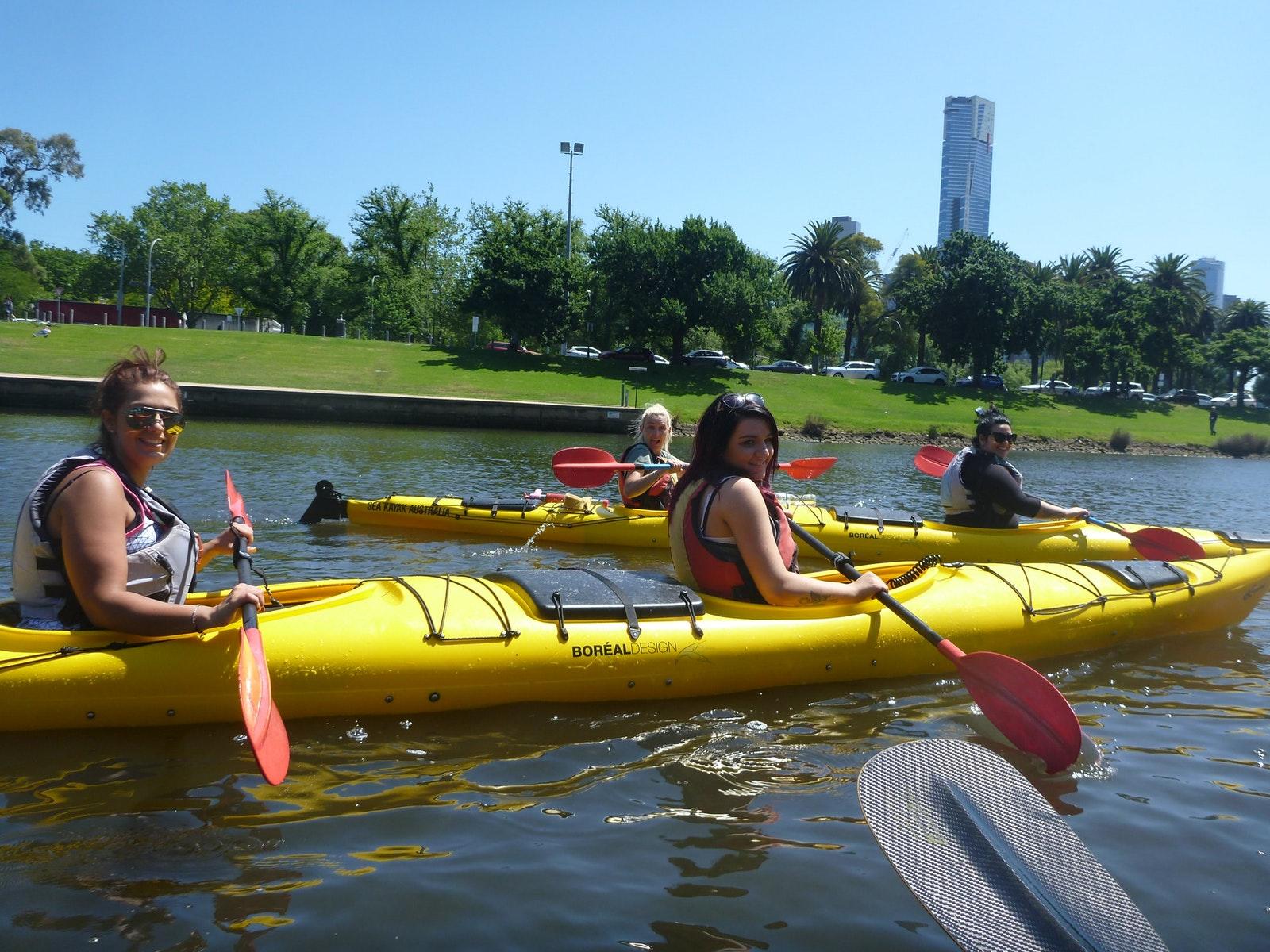 Melbourne City Delight Kayak Tour