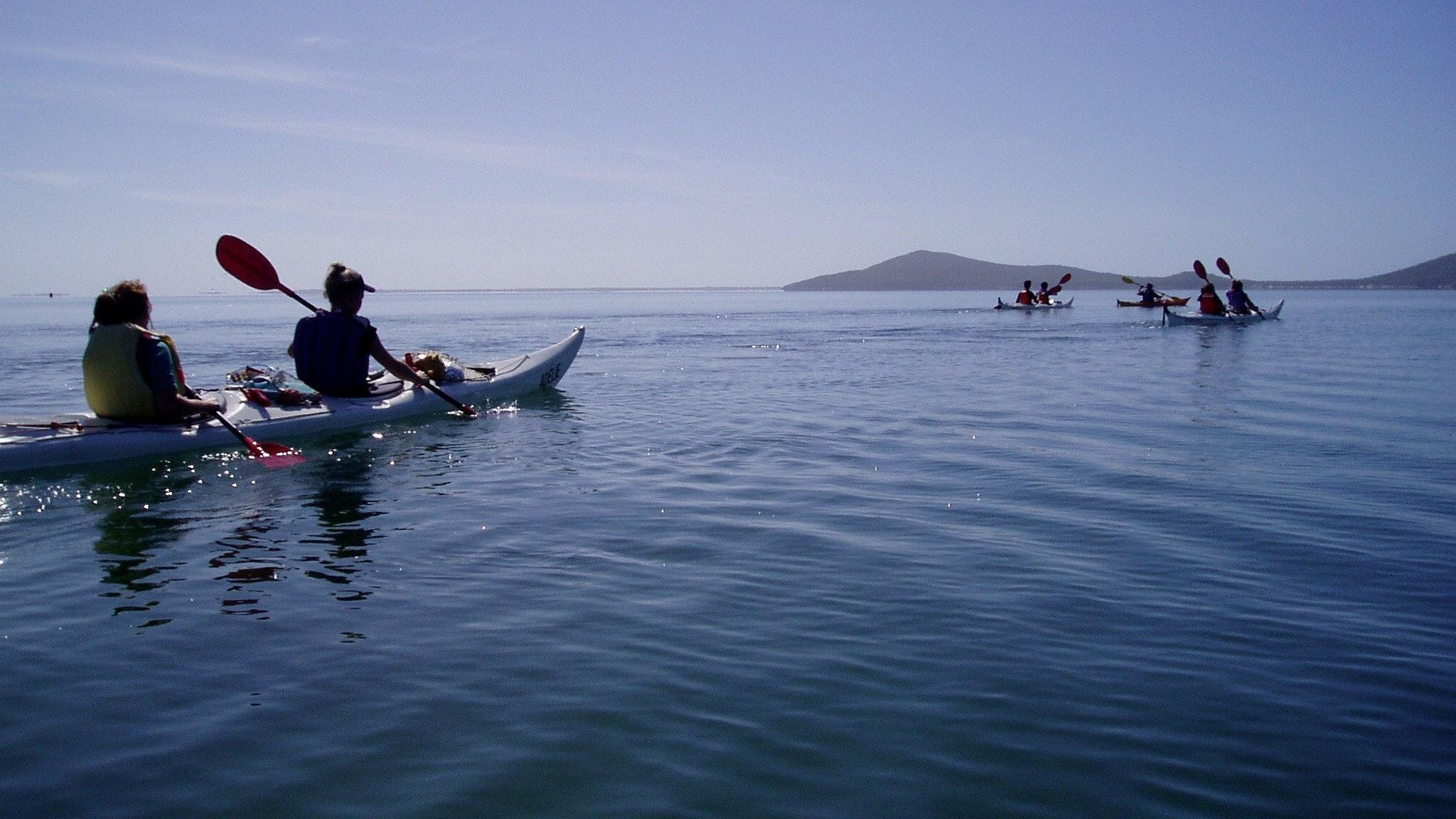 Corner Inlet sea kayak