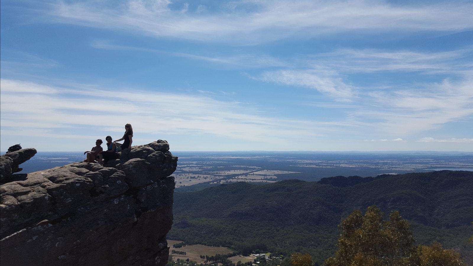 The Pinnacles Lookout - Grampians Peaks Trail