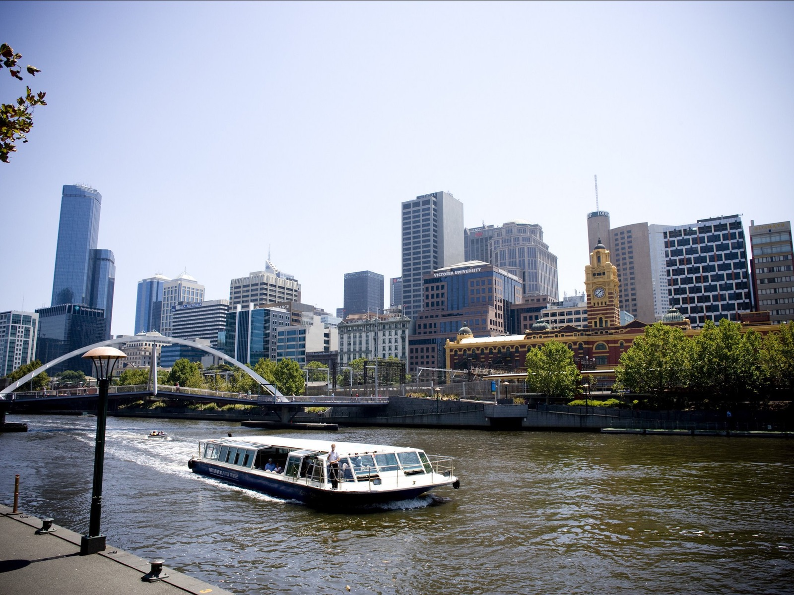 Yarra Queen with City Backdrop
