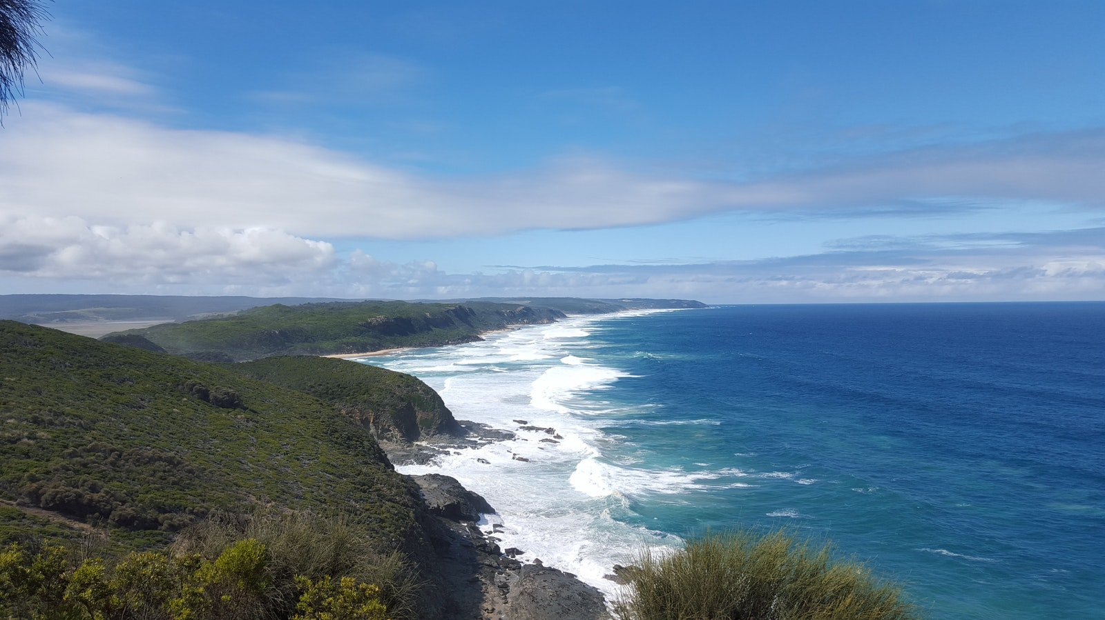 View from near Castle Cove on the Great Ocean Walk