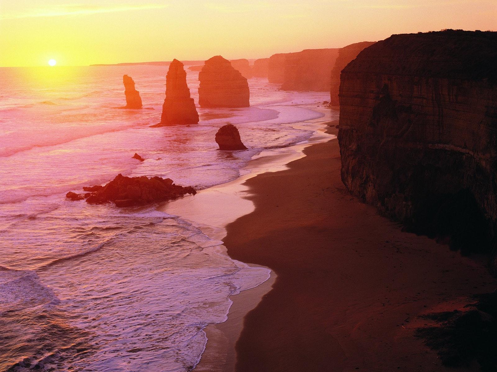 Sunset at the Apostles