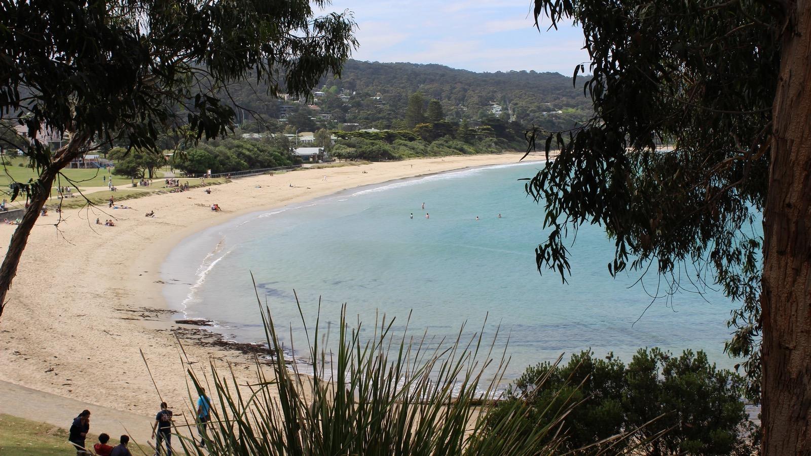 Aussie Melbourne Tours, beach view