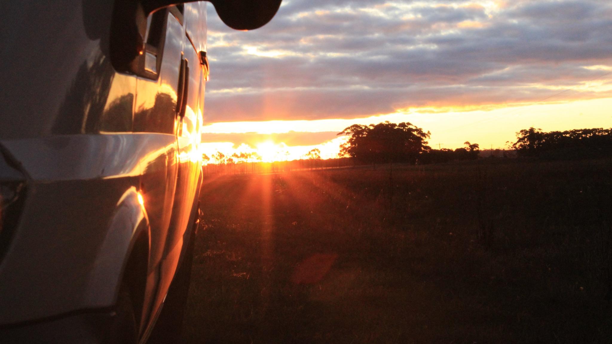 Sunset on Tour - Grampians National Park
