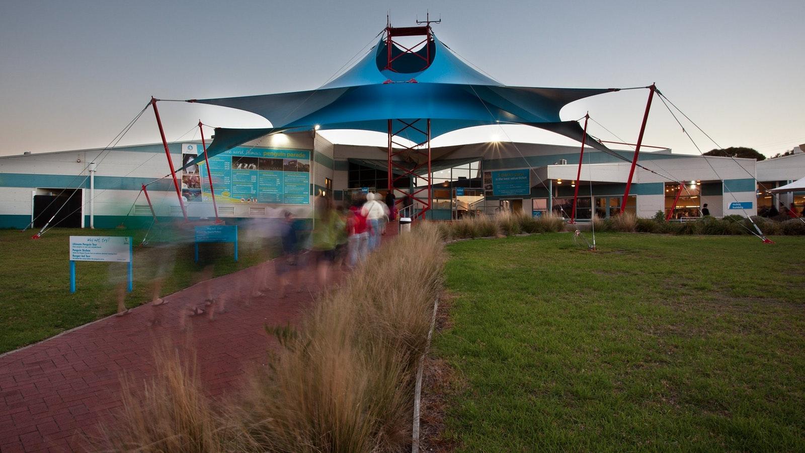 Phillip Island Nature Parks Visitor Information Centre, home to 32,000 penguins