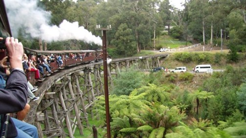 Puffing Billy Bridge