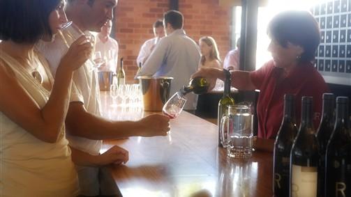 Wine Tasting at Rochford Winery