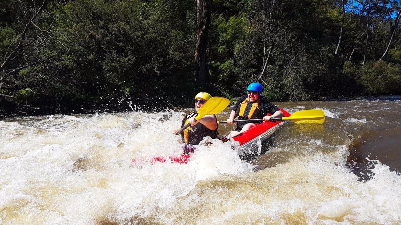 Whitewater kayaking, Melbourne