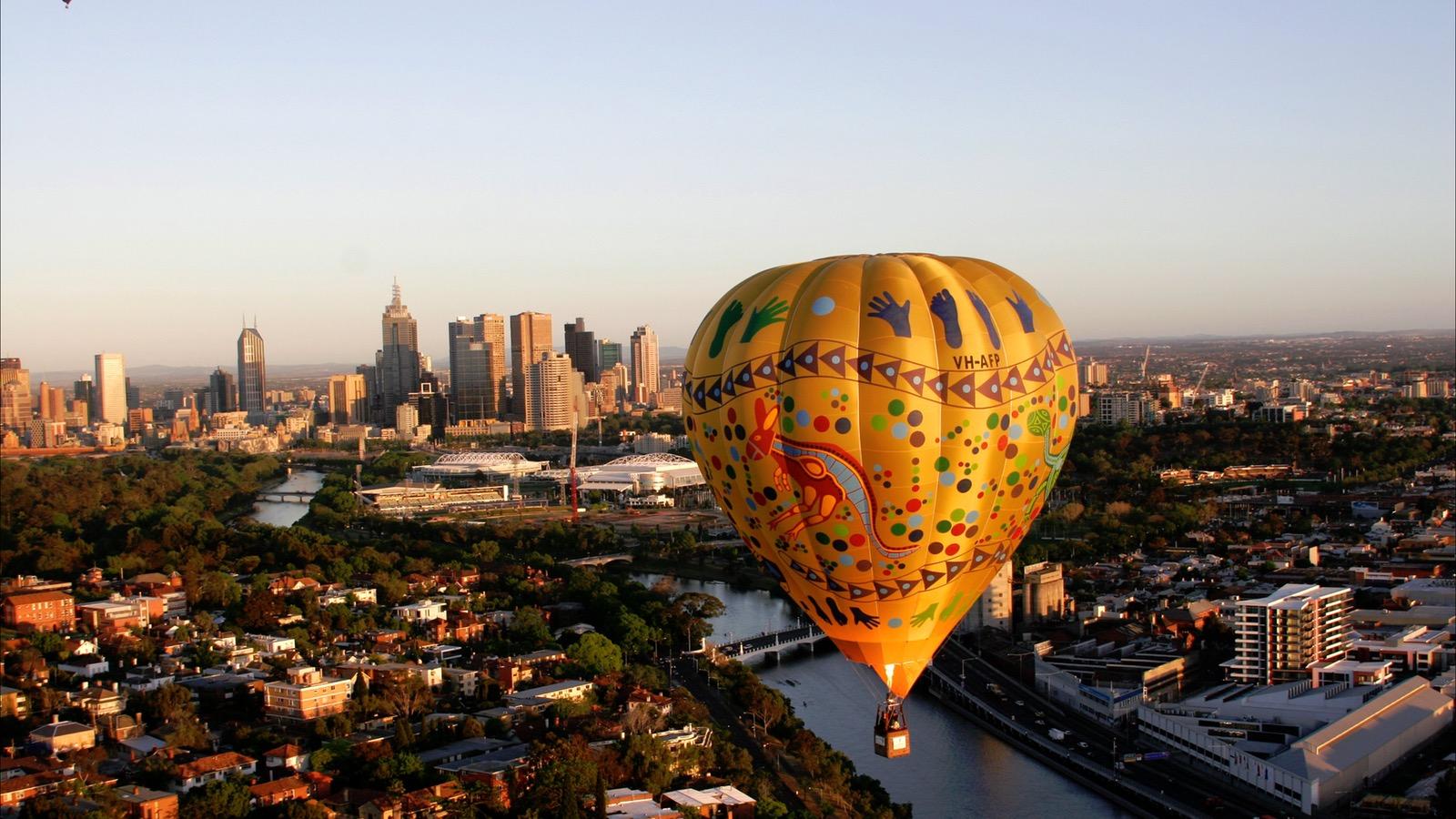 Melbourne hot air balloon