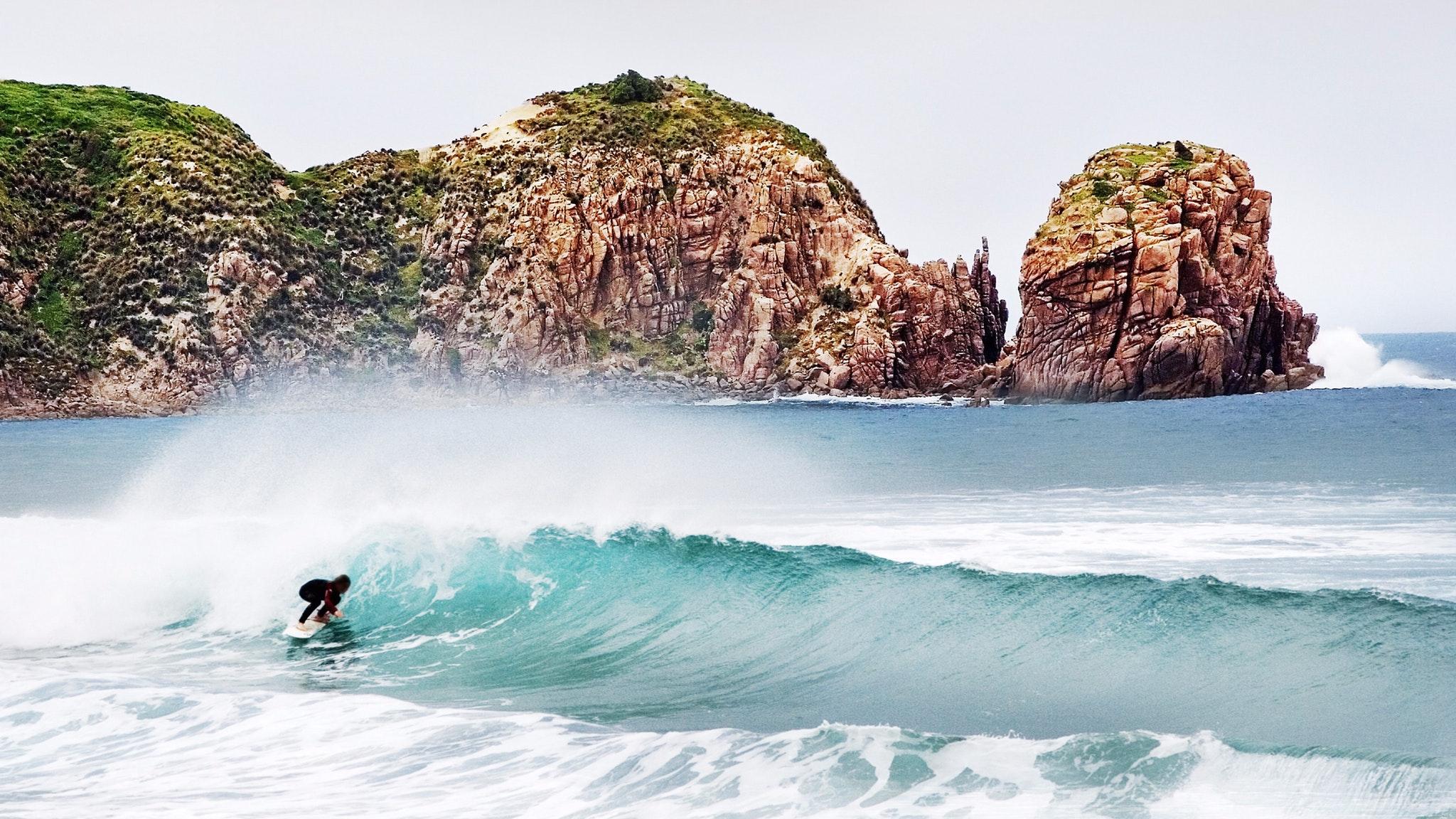 Surf Rocks Ocean