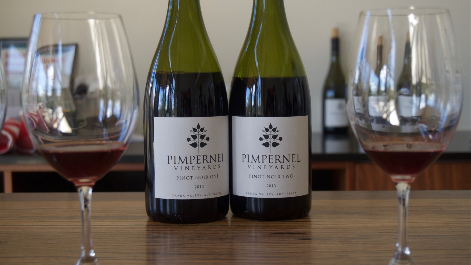 Wines at Pimpernel Winery