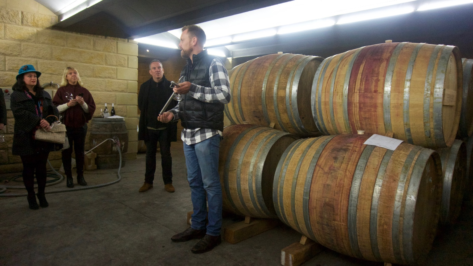 Barrel Room Tasting with Winemaker at Ocean Eight