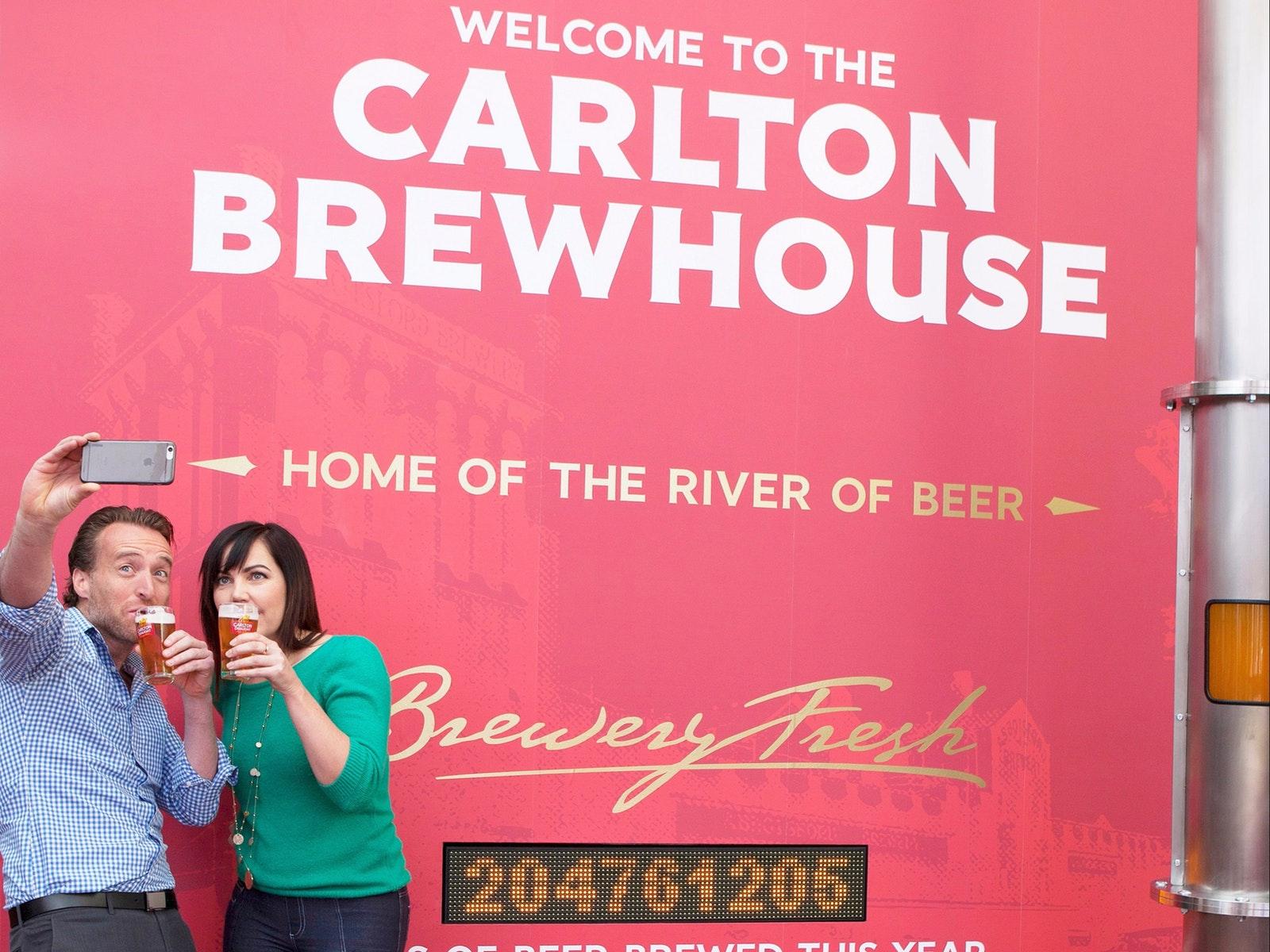 Carlton Brewhouse Tour