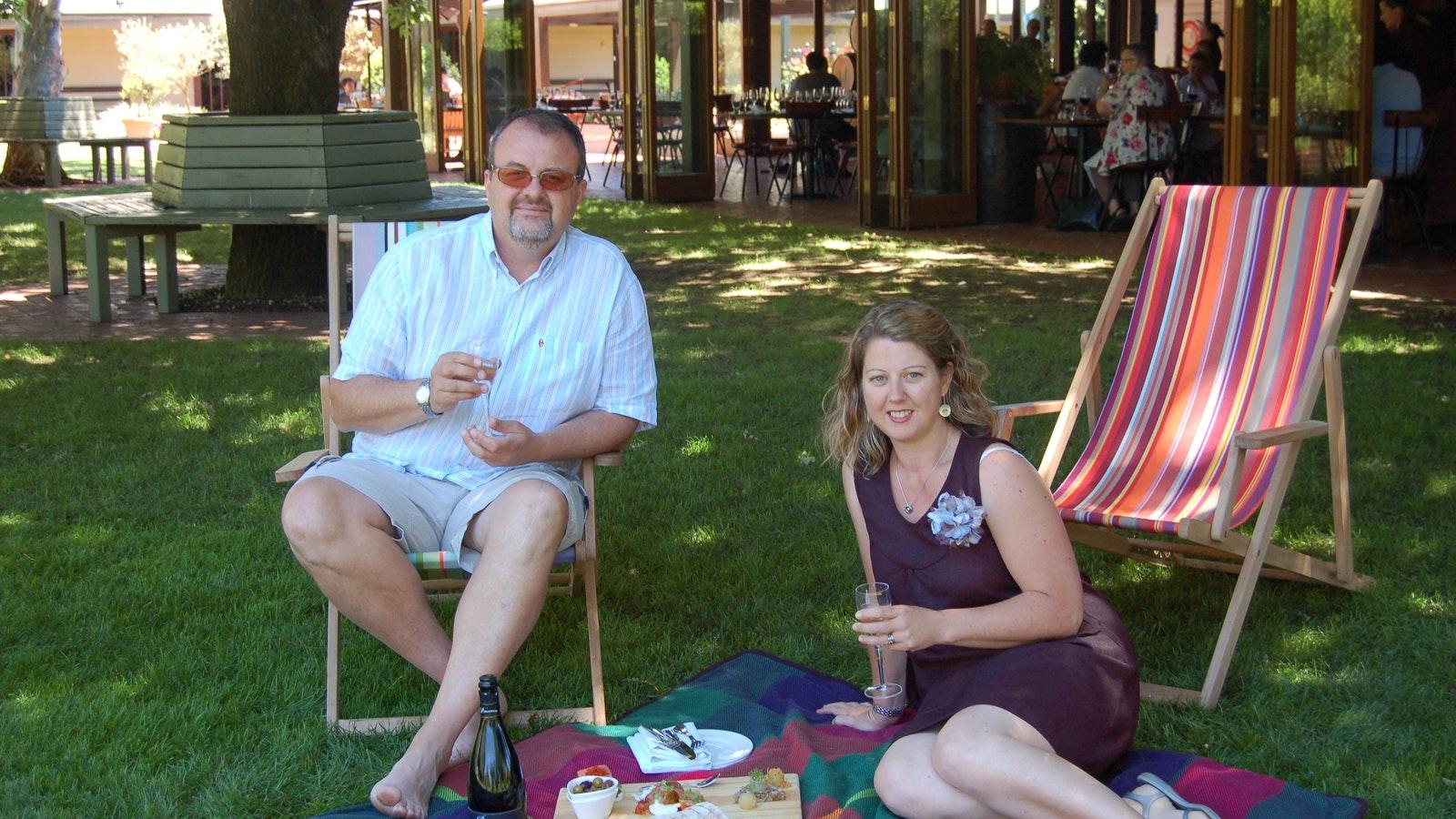 Italian Delights' owners - Jim and Lynette Romagnesi