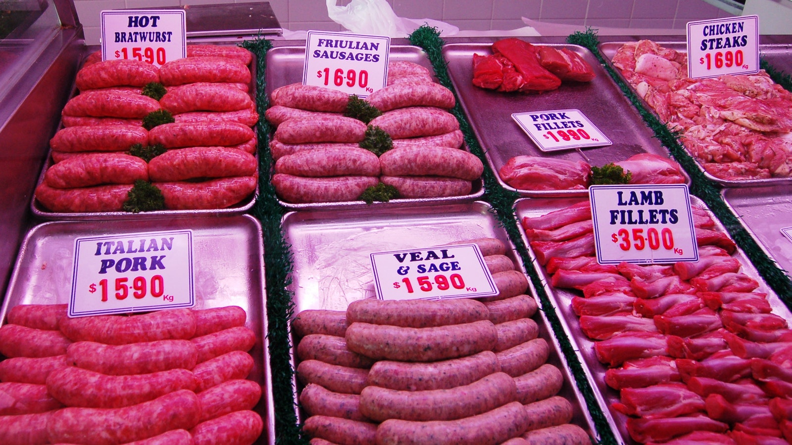 Fresh and great quality meat!