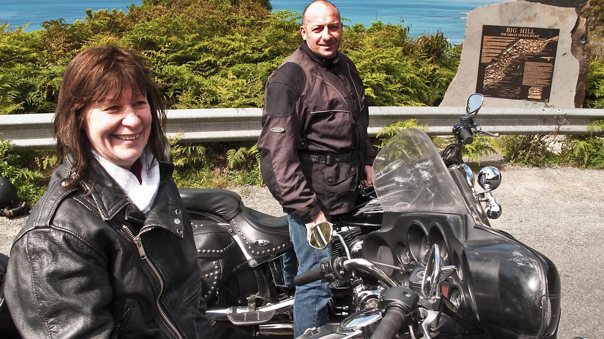 Photograpy break Apollo Bay Harley Ride