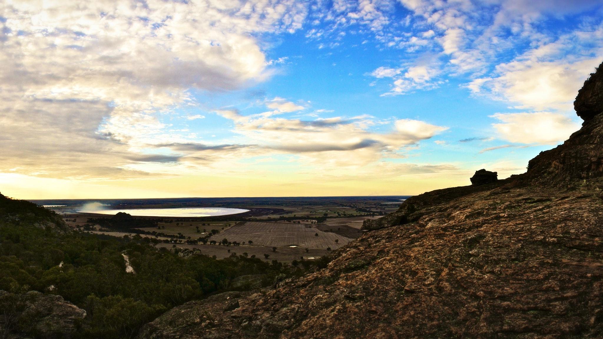 Little Desert Nature Lodge View