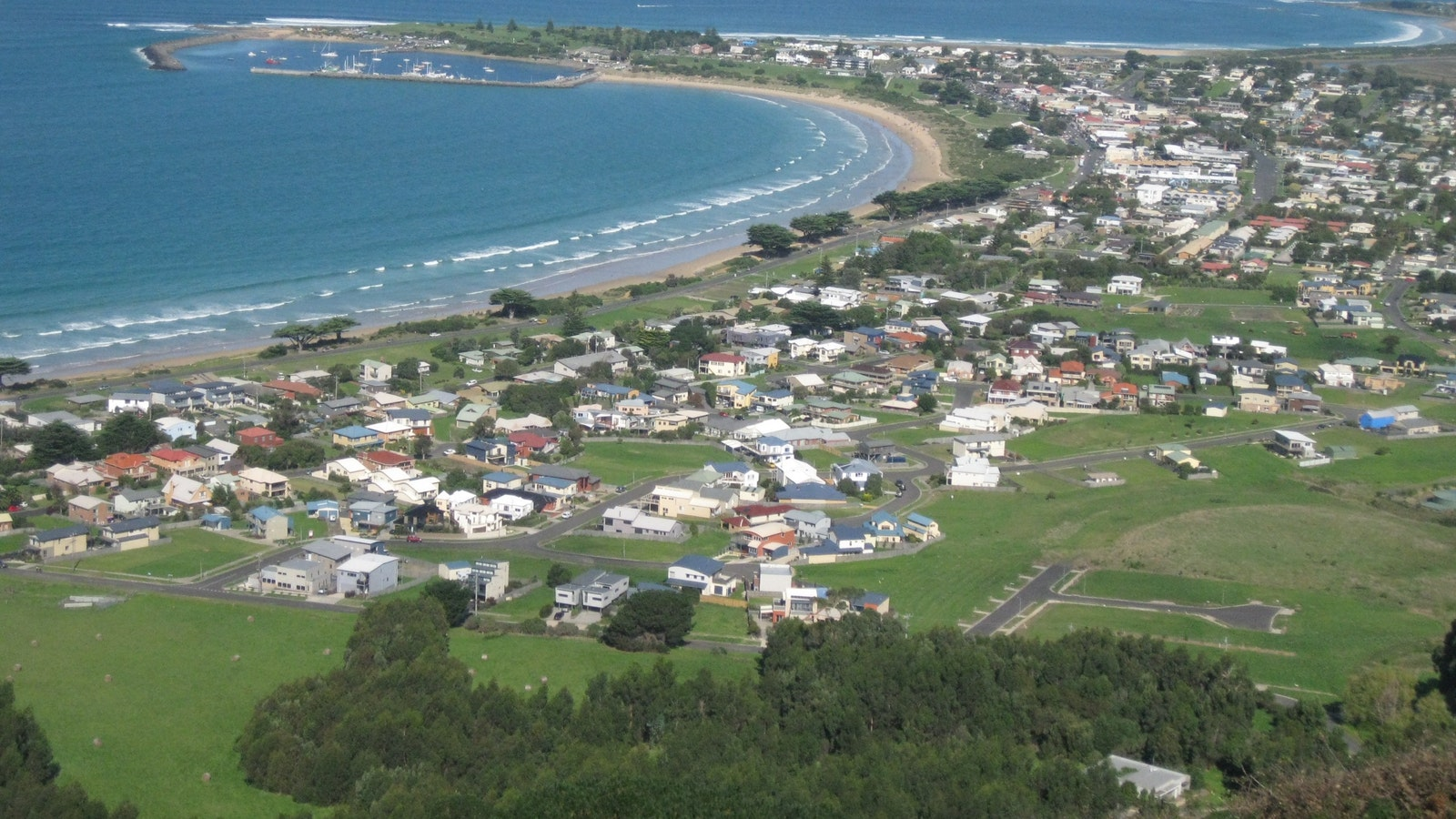 Overlooking Apollo Bay