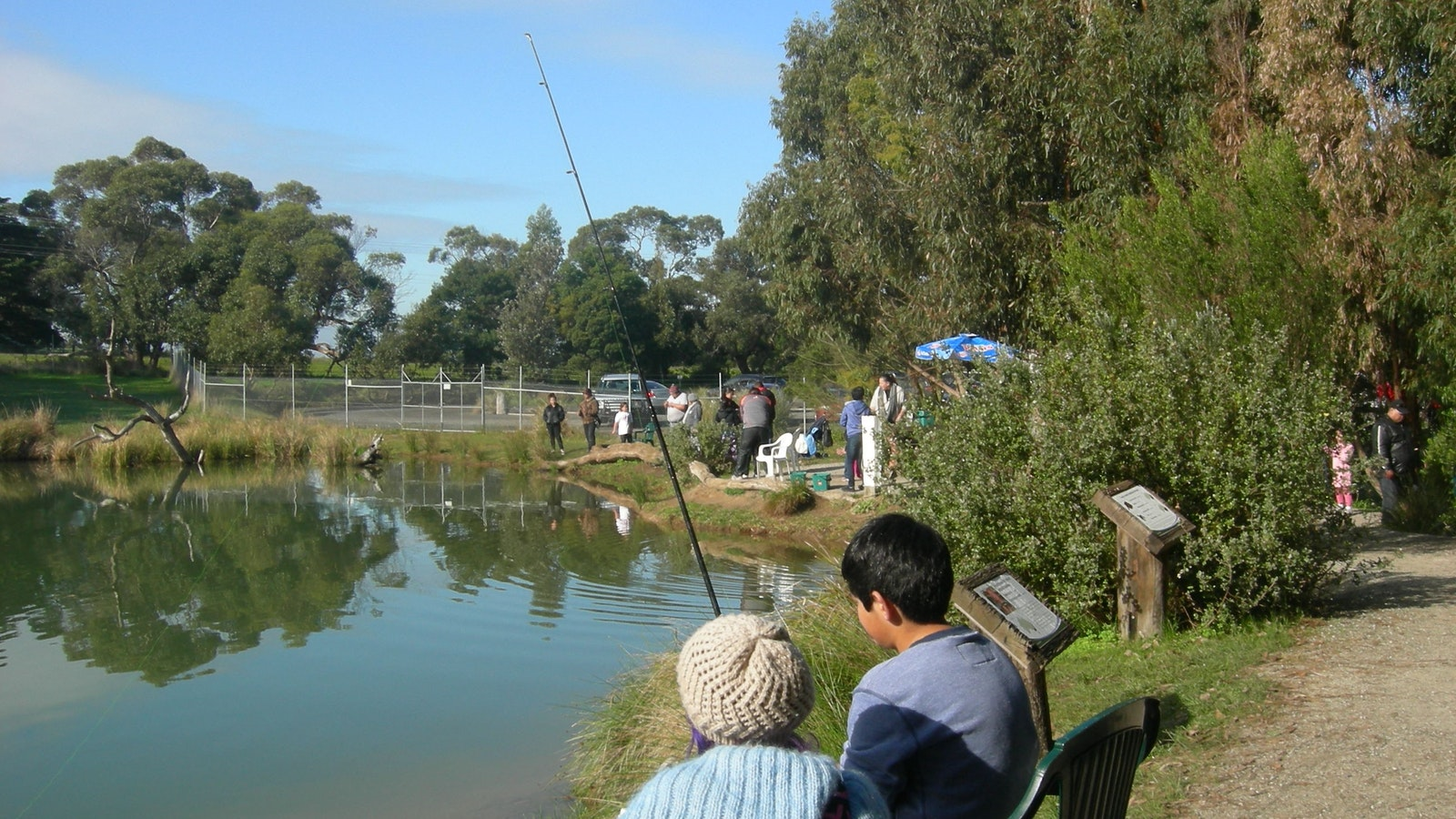 Trout Fishing at Rhyll Trout Farm