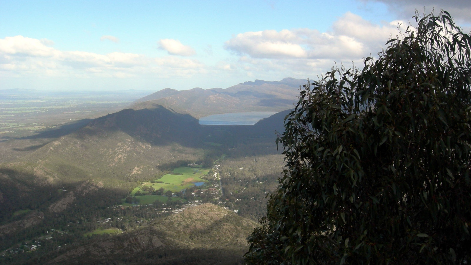 View from the Grampians