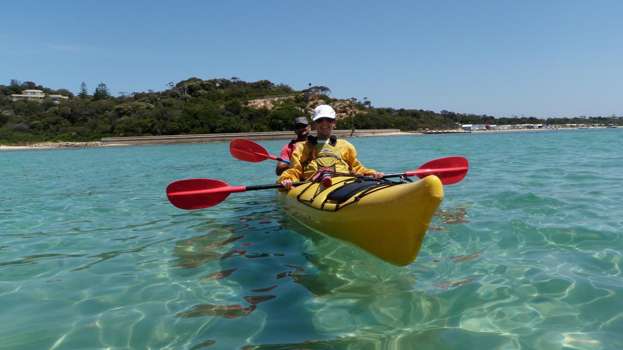 Soorento sea kayak day tour