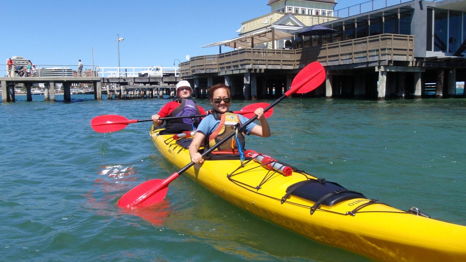 Sea Kayak Half Day St Kilda
