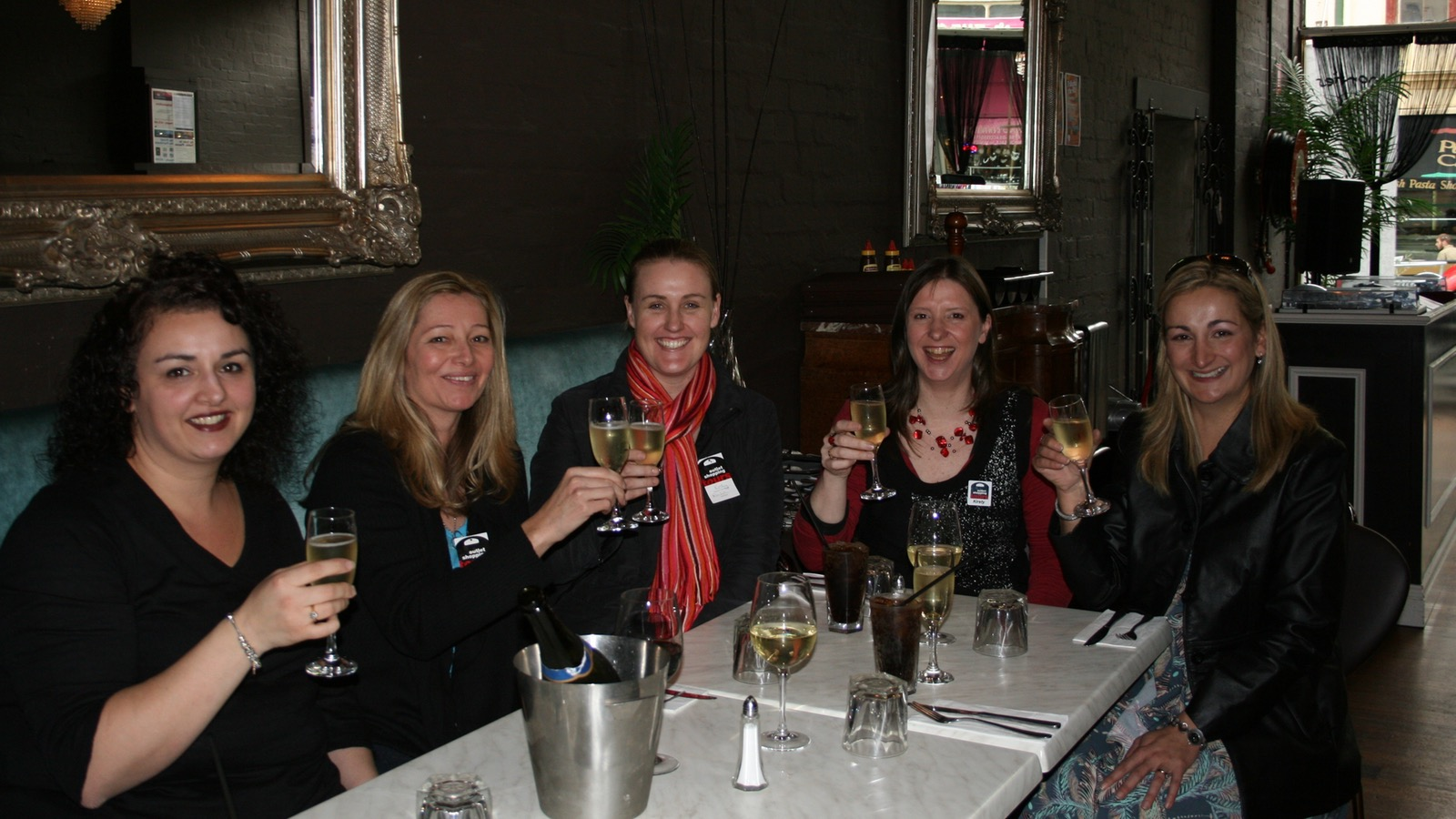 Champers and Lunch at Monties