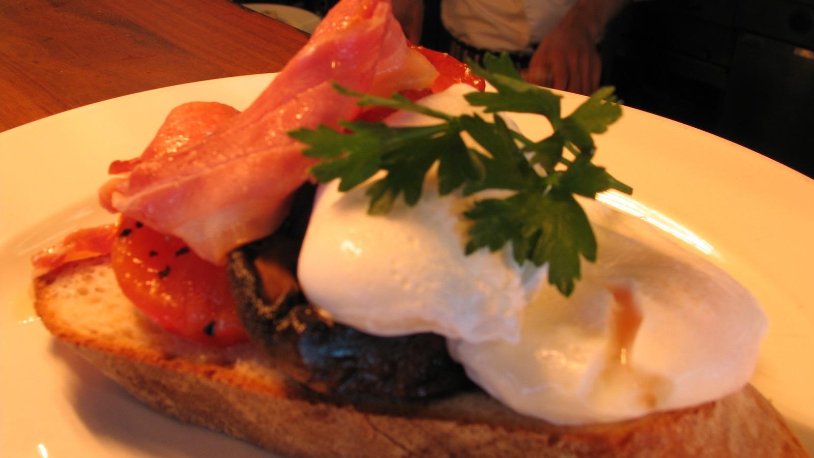 Delicious breakfast at Rochford