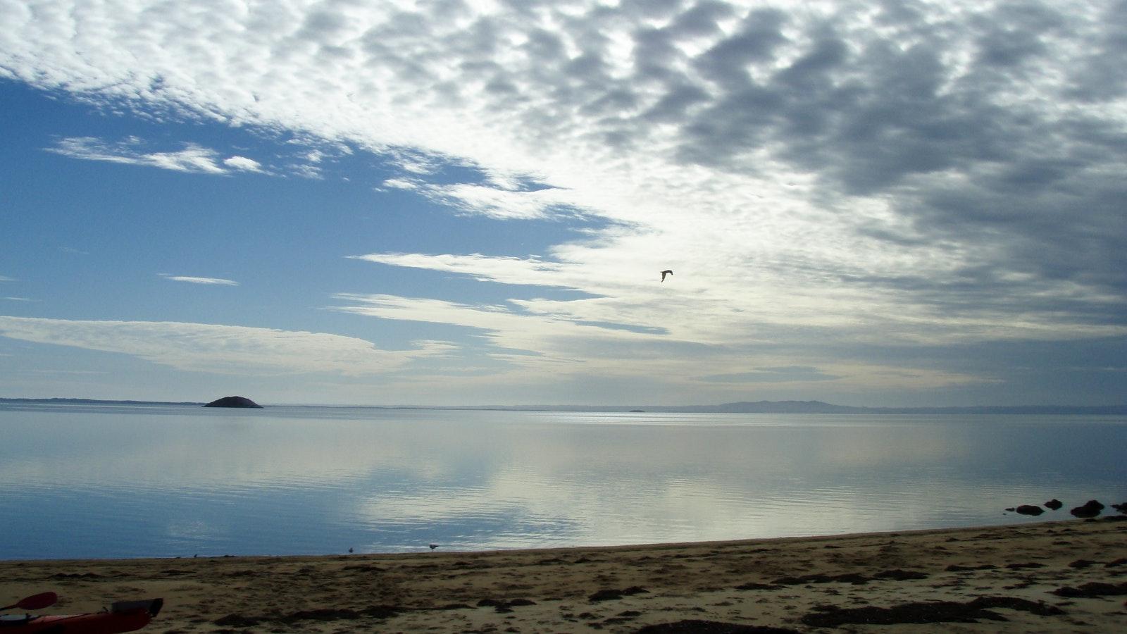 Calm waters Tin mine Cove