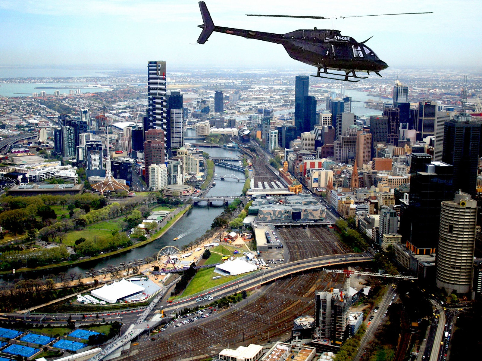 scenic flight melbourne