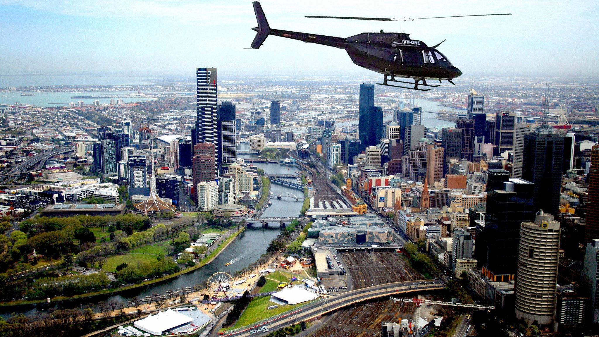 scenic flight melbourne