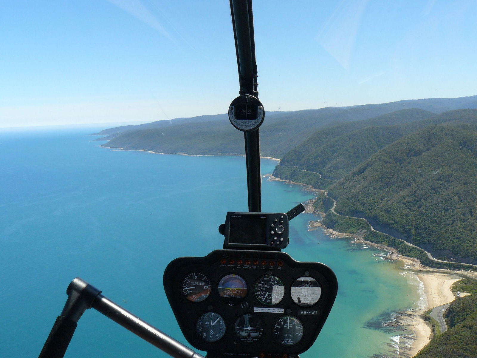 great ocean rd helicopter scenic from melbourne
