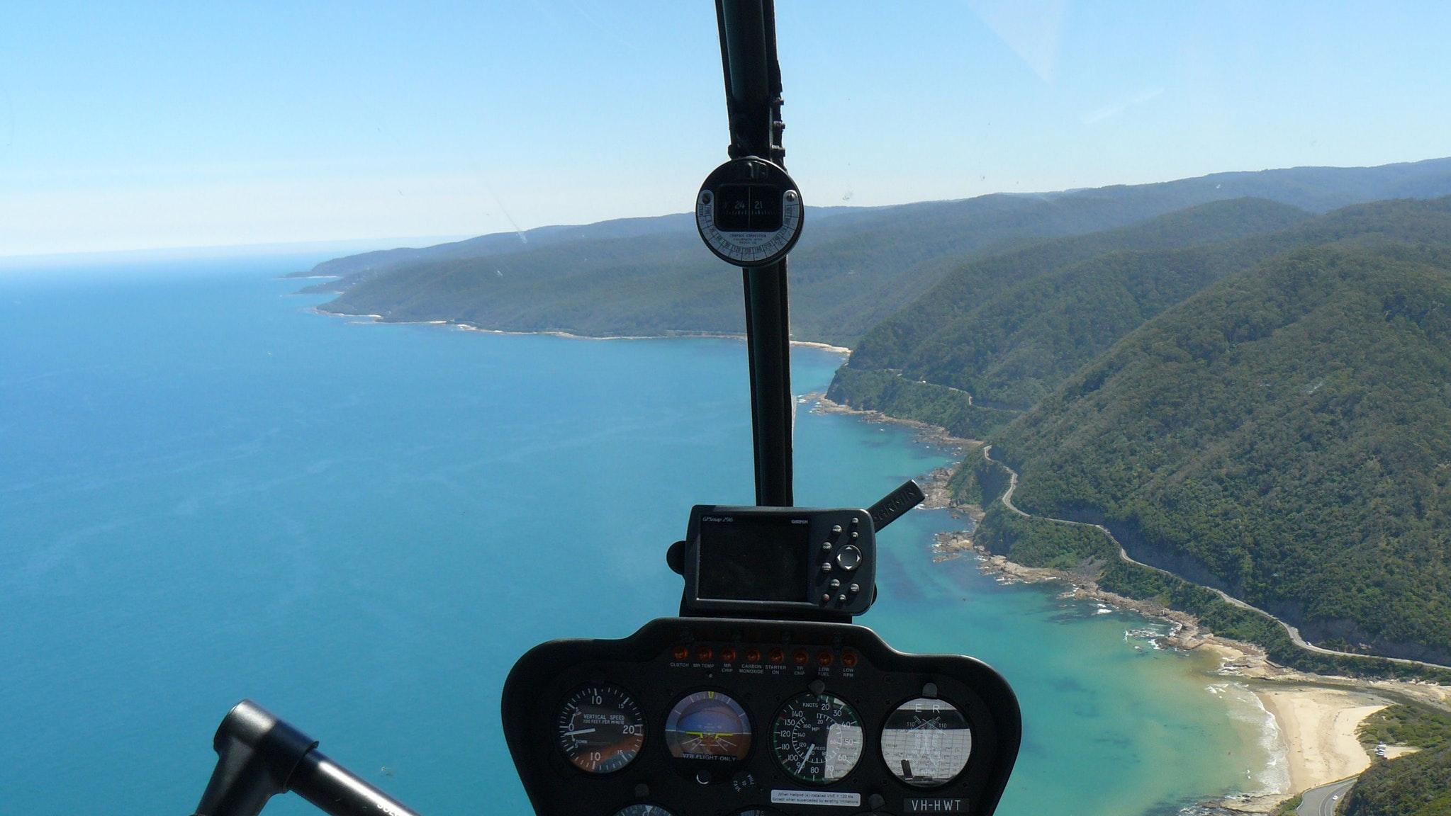 Great Ocean Road helicopter scenic flight
