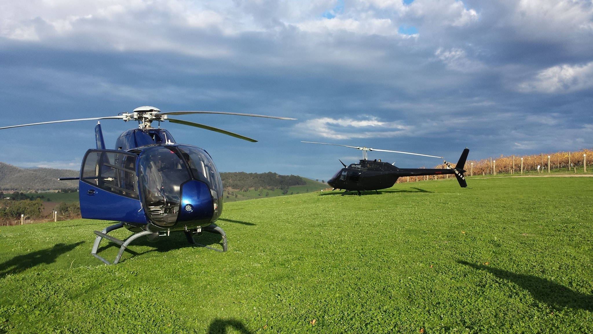 yarra valley winery tours by helicopter