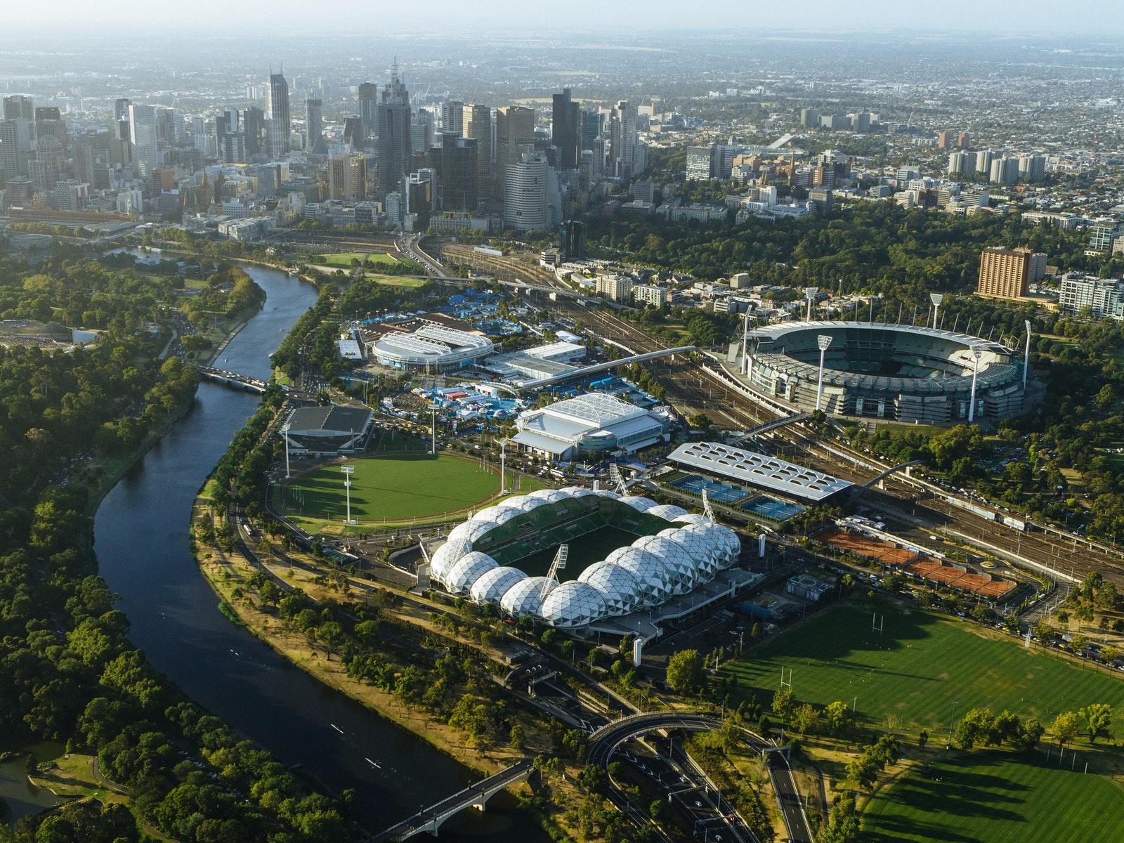 Melbourne's sports precinct