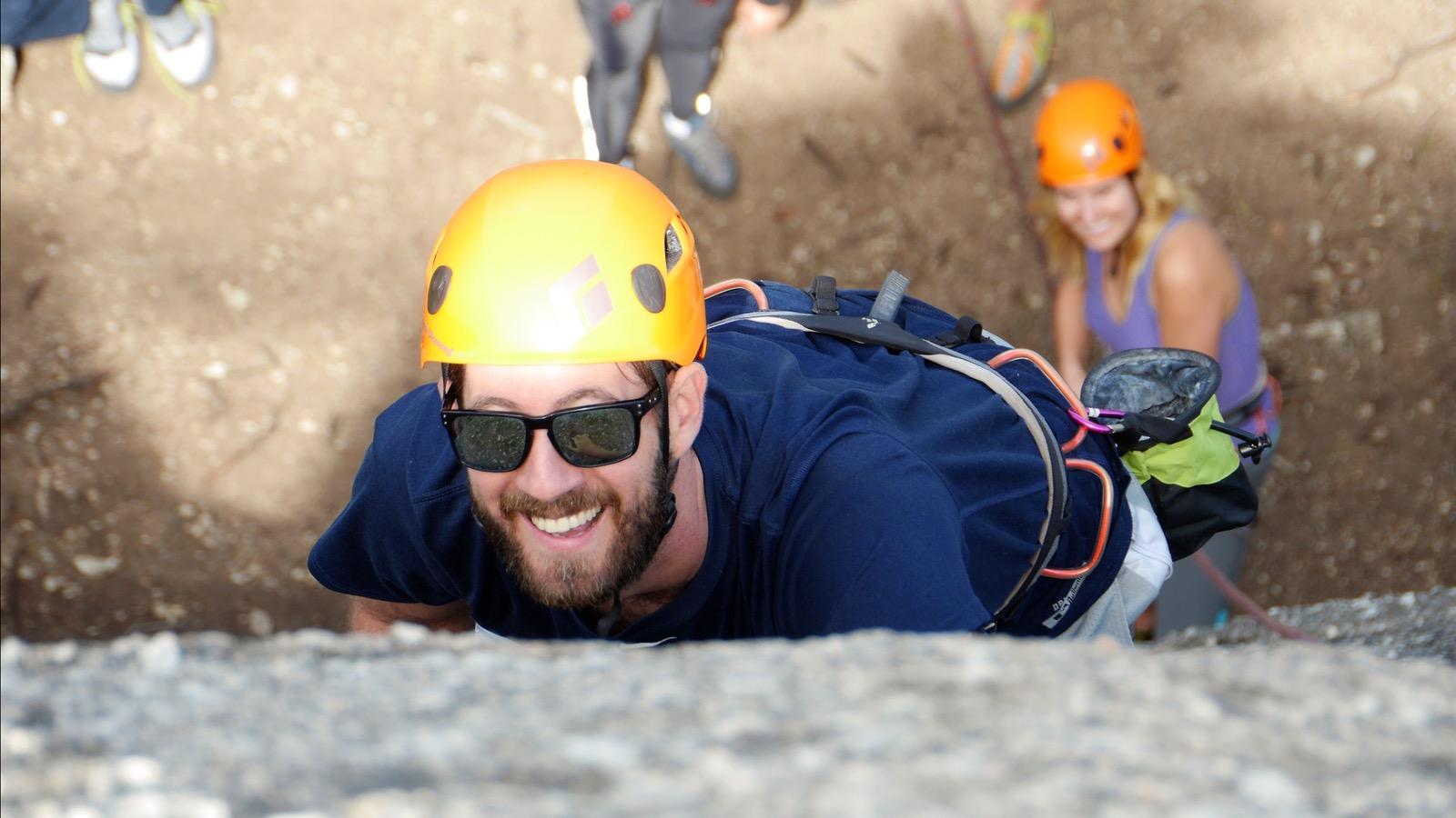 Climbing near Melbourne