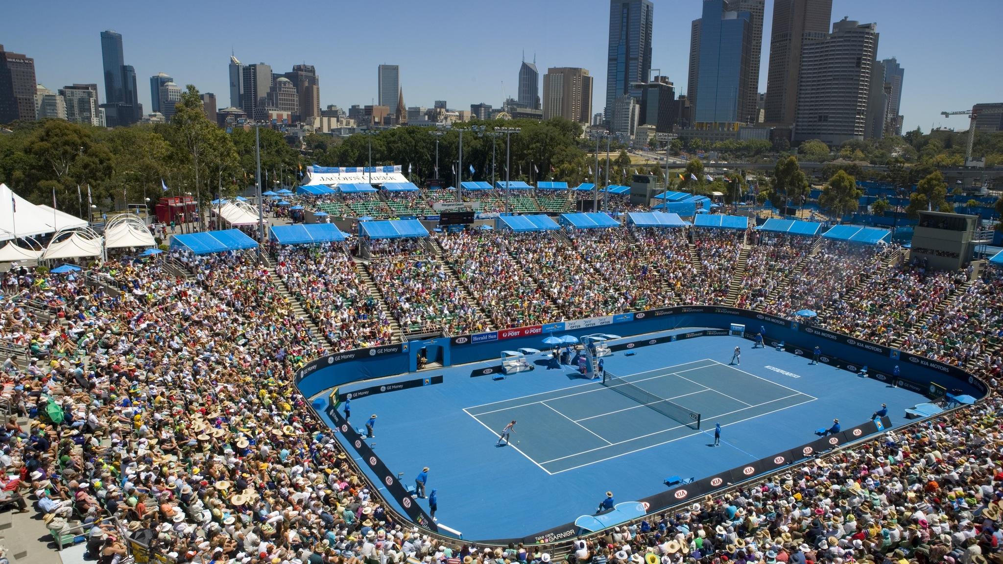 Australian Open Guided Tour