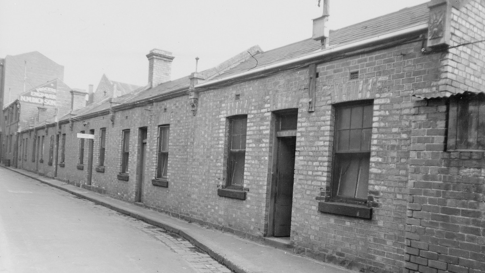 Casselden Place in 'Little Lon' from State Library of Victoria