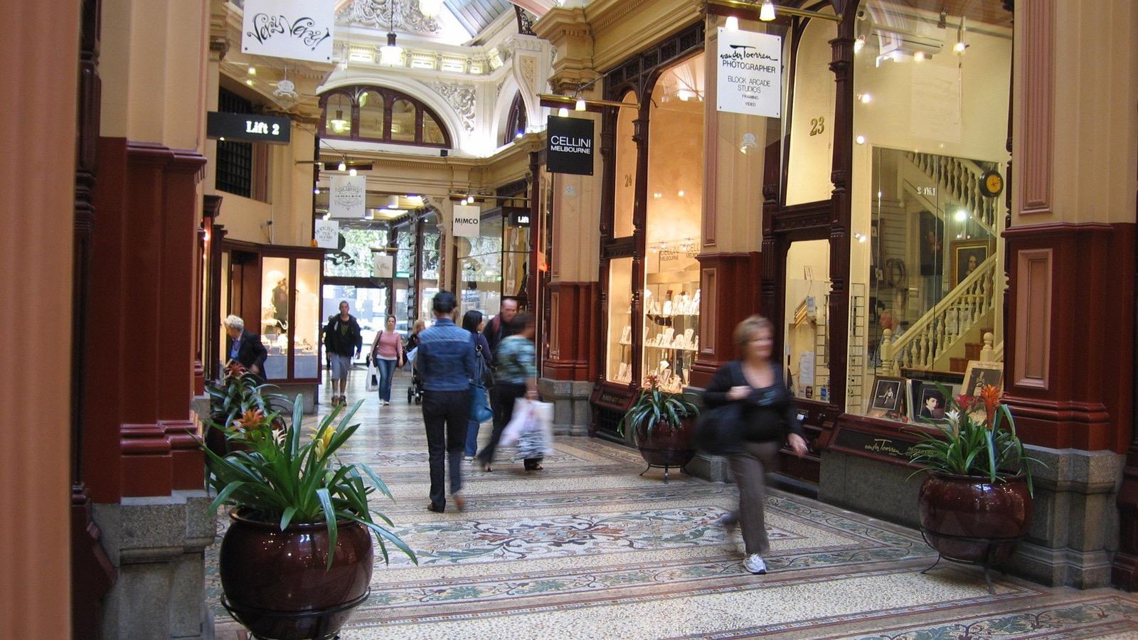 The Block Arcade-Collins St