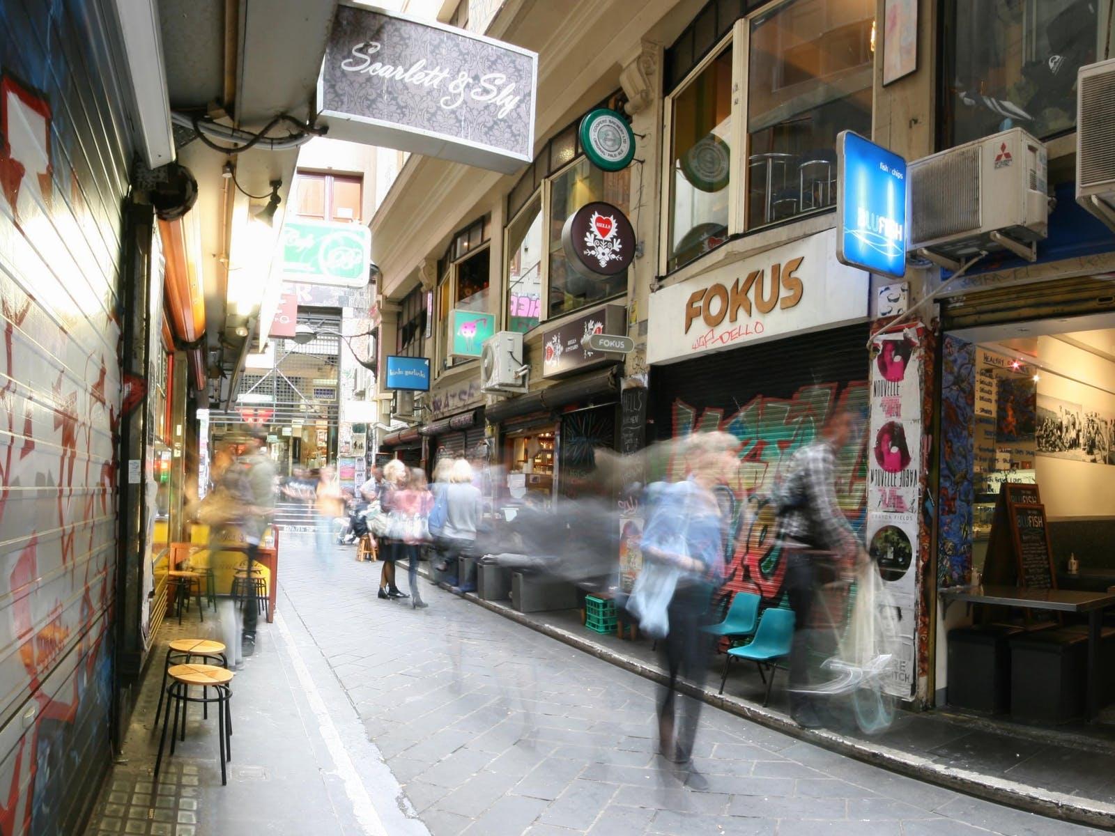 Melbourne's vibrant cafe culture