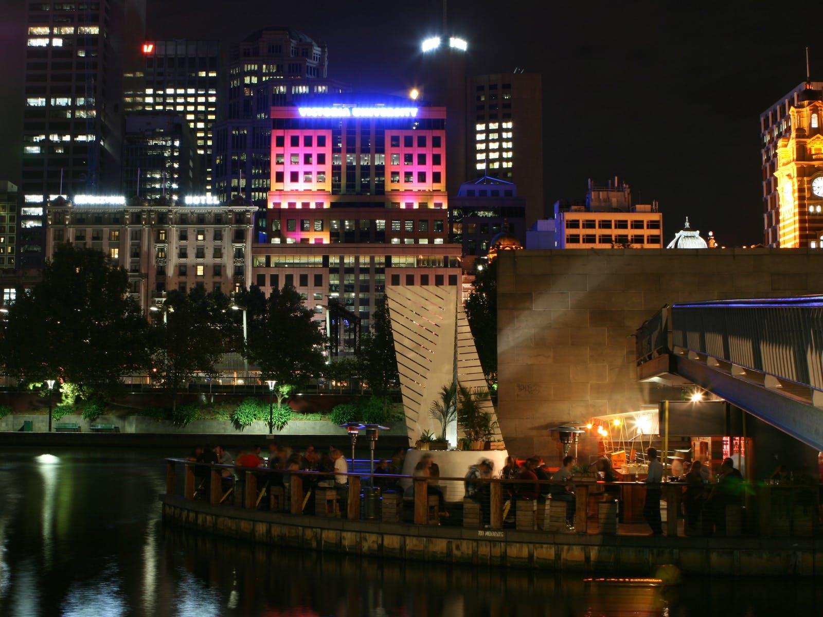 Melbourne's vibrant bar scene
