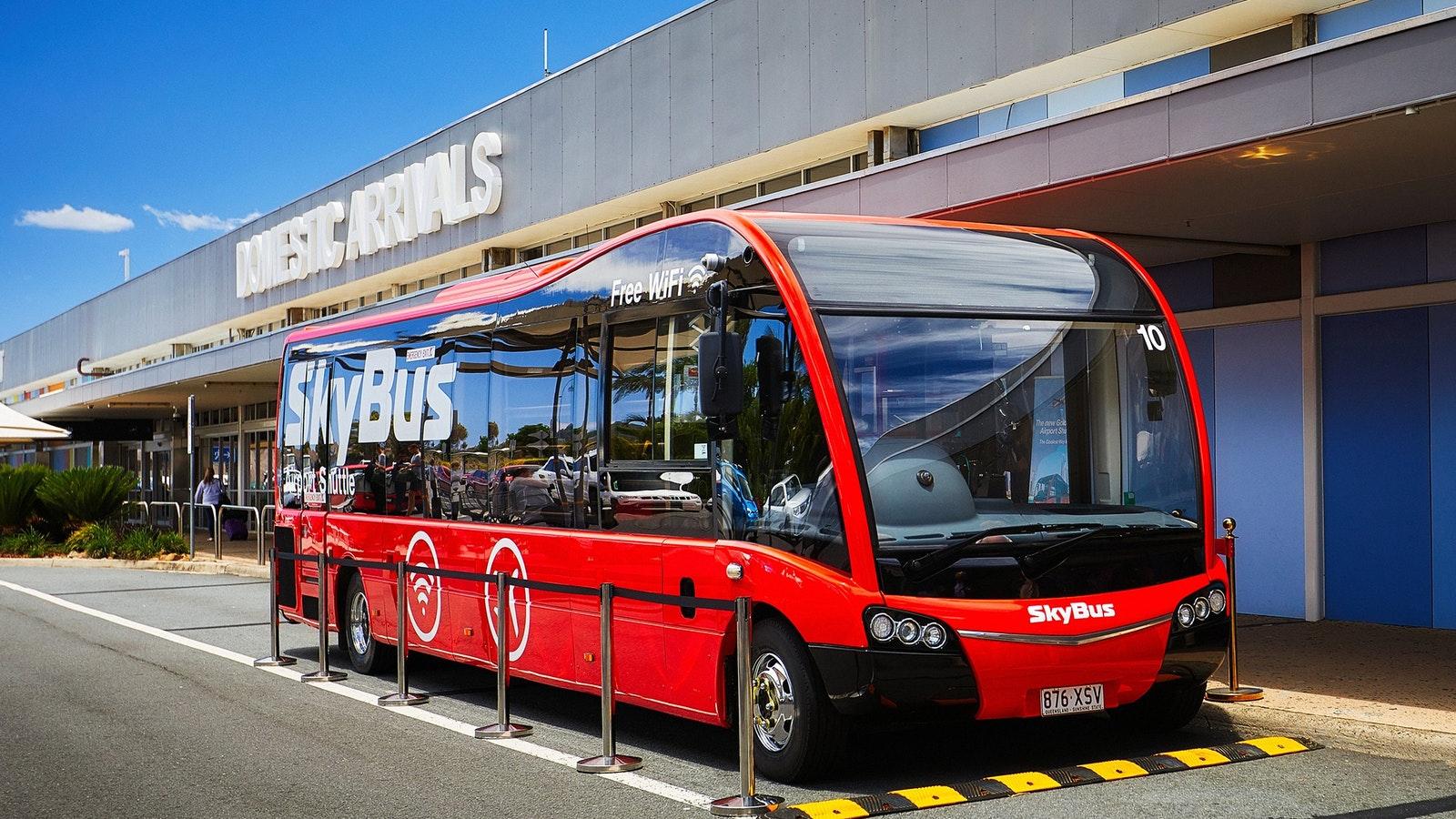 Skybus Transport Melbourne Victoria Australia