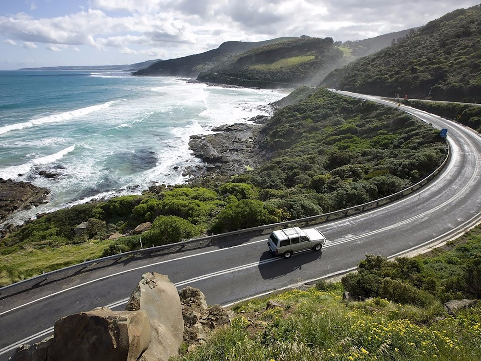 Great Ocean Road touring