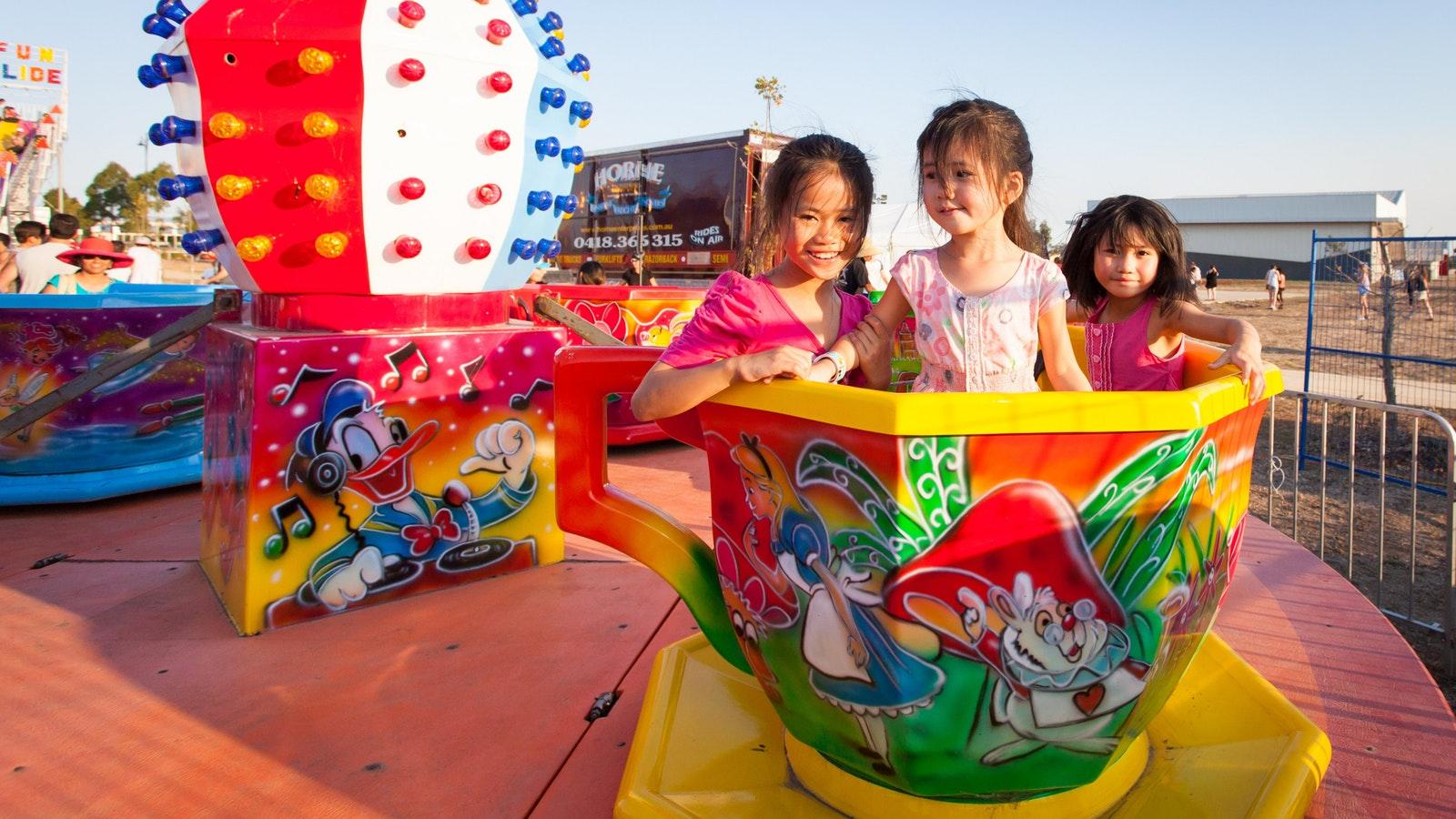 Festivals - children on ride
