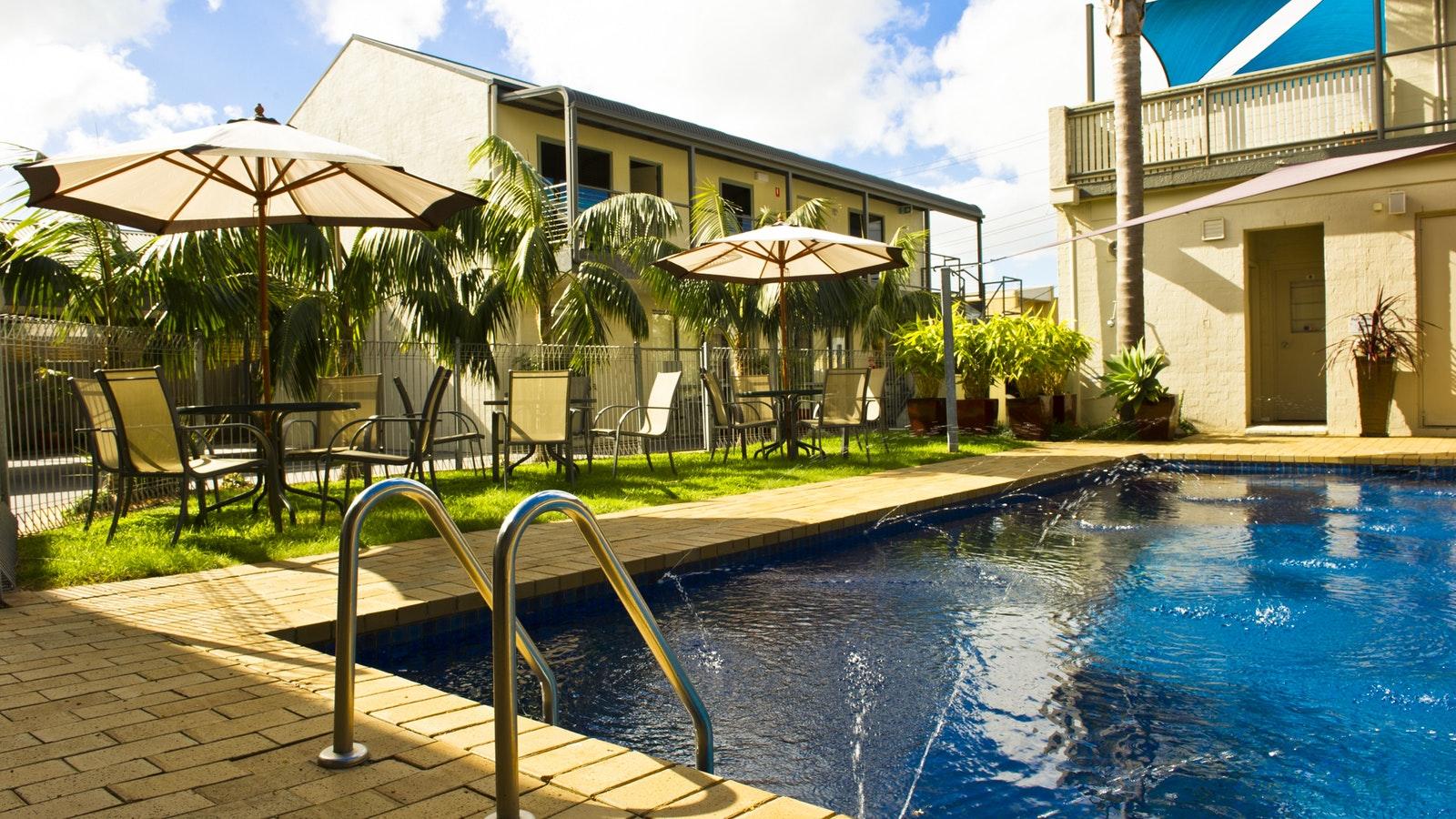 Pool heated November - April