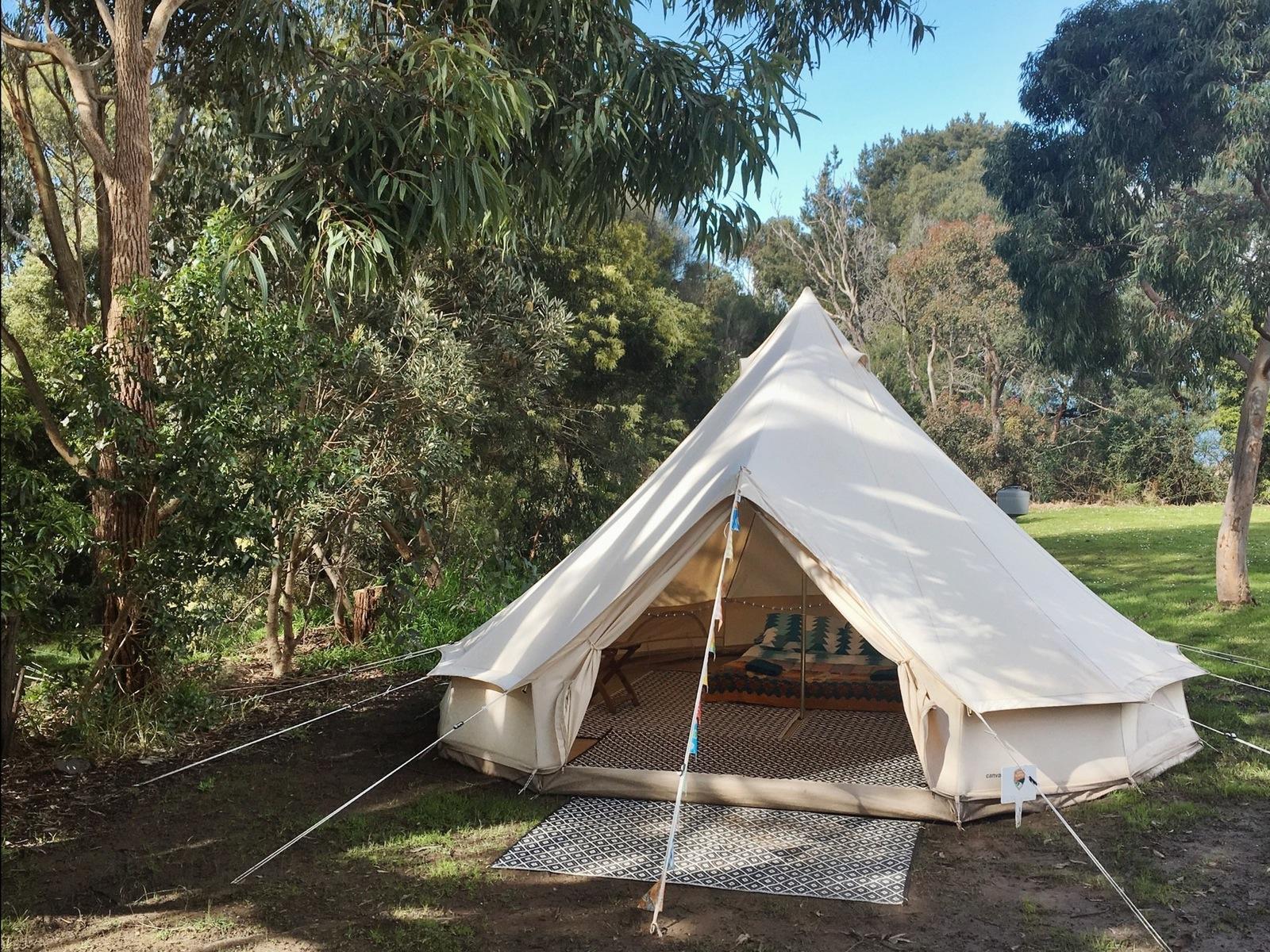 Happy Glamper 4 metre bell tent